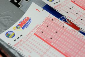 Mega Millions lottery ticket forms.   (Getty Images)