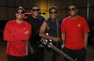 Marlon Jackson, Jackie Jackson, Tito Jackson and Jermaine Jackson are seen at the Jacksons tour rehearsal on Tuesday, June 12, 2012 in Burbank, Calif.