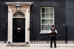 A Downing Street official has been arrested in a child pornography case.