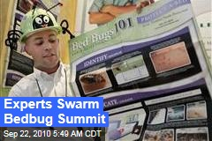 Experts Swarm Bedbug Summit