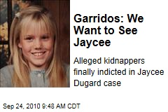 Phillip, Nancy Garrido Indicted in Jaycee Dugard Kidnapping Case