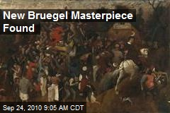 New Bruegel Masterpiece Found