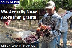 We Actually Need More Immigrants