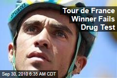 Tour de France Winner Fails Drug Test