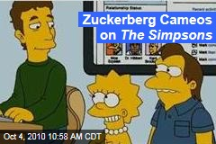 Zuckerberg Cameos on The Simpsons
