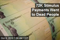 72k stimulus payments went to