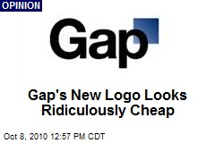 Gap's New Logo Looks Ridiculously Cheap
