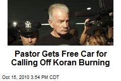 Pastor Gets Free Car for Calling Off Koran Burning