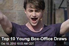Top 10 Young Box-Office Draws