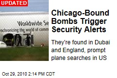 Chicago-Bound Bomb Triggers Security Alerts