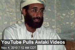 YouTube Pulls Awlaki Videos