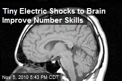 Tiny Electric Shocks to Brain Improve Number Skills
