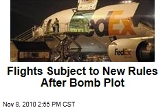 Flights Subject to New Rules After Bomb Plot