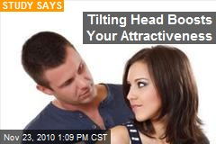 Tilting Head Boosts Your Attractiveness