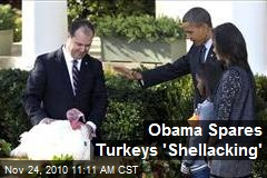 Obama Spares Turkeys &#39;Shellacking&#39;