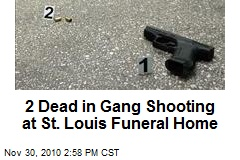 2 Dead in Gang Shooting at St. Louis Funeral Home