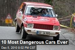 10 Most Dangerous Cars Ever