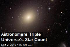 Astronomers Triple Universe's Star Count