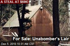 For Sale: Unabomber's Lair