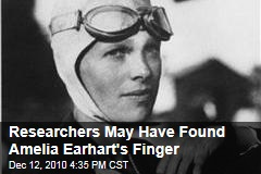 Researchers May Have Found Amelia Earhart's Finger