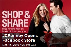 JCPenney Opens Facebook Store