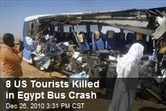8 US Tourists Killed in Egypt Bus Crash