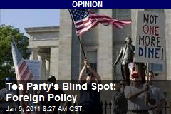 Tea Party's Blind Spot: Foreign Policy