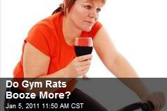 Do Gym Rats Booze More?