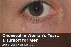 Chemical In Women's Tears a Turnoff for Men