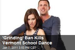 'Grinding' Ban Kills Vermont School Dance