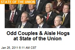 Odd Pairings & Aisle Hogs at State of the Union