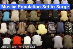 Muslim Population Set to Surge