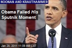 Obama Failed His Sputnik Moment