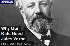 Why Our Kids Need Jules Verne