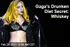 Lady Gaga: I'm on the Drunk Diet