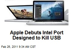 Apple Debuts Intel Port Designed to Kill USB