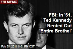 Ted Kennedy Rented Brothel While Touring Latin America in 1961