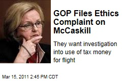 Missouri Sen. Claire McCaskill Faces Senate Ethics Complaint