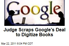 Google Books: Company&#39;s Plan to Create Biggest Digital Library Hits Legal Snag