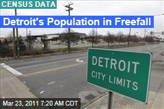Detroit Census Data: City Has Lost 25% of Population Over Last Decade