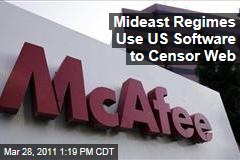Internet Censorship: Mideast Regimes Use US Software to Censor Web