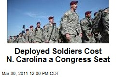 Deployed Soldiers Cost N. Carolina a Congress Seat