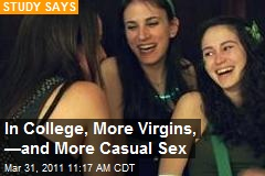 In College, More Virgins, —and More Casual Sex