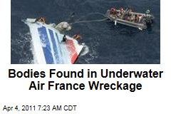 Bodies Found in Underwater Air France Wreckage