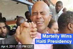 Michel Martelly Wins Haiti Presidency