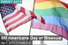 9M Americans Gay or Bisexual