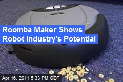 Roomba Maker Shows Robot Industry's Potential