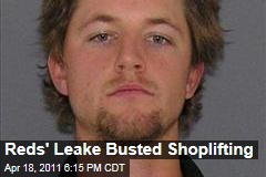 Cincinnati Reds Pitcher Mike Leake Charged With Shoplifting 6 T-Shirts