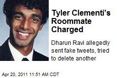 Tyler Clementi's Roommate Charged