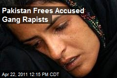 Pakistan Frees Accused Gang Rapists